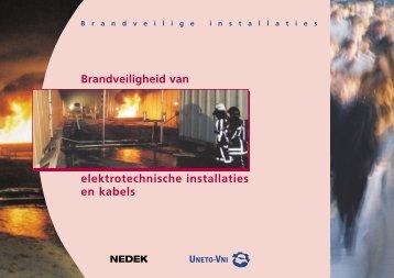 Meer informatie over brandveilige installaties