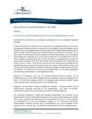 reorganisatie douane - Vlaamse Havenvereniging