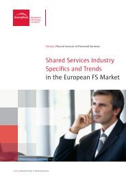 Shared Services Industry Specifics and Trends in the ... - BearingPoint