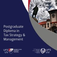 Postgraduate Diploma in Tax Strategy & Management