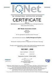 ISO 9001 - BDT