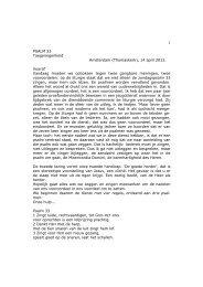 Preek van zondag 14 april 2013, Alex van Ligten ... - Thomaskerk