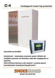 Smokeguard system C4 2012 pre... - Swefog Professional AB