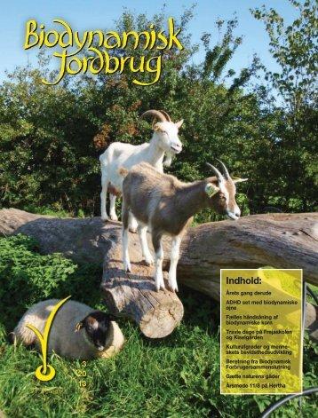 Indhold: - Foreningen for Biodynamisk Jordbrug