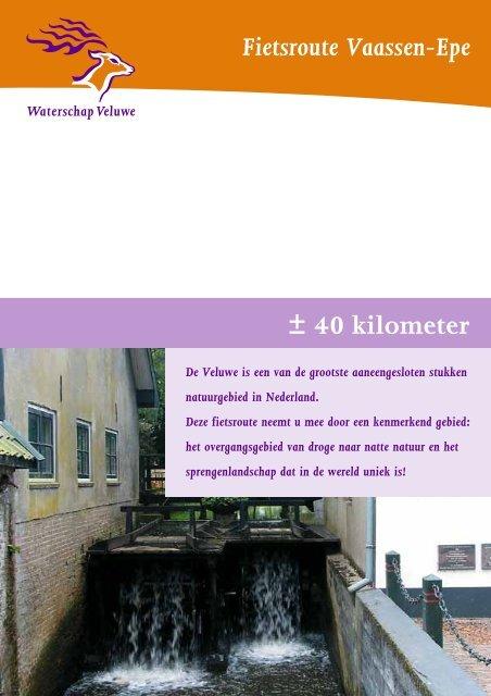 Fietsroute Vaassen-Epe ± 40 kilometer - Museum Vaassen Historie