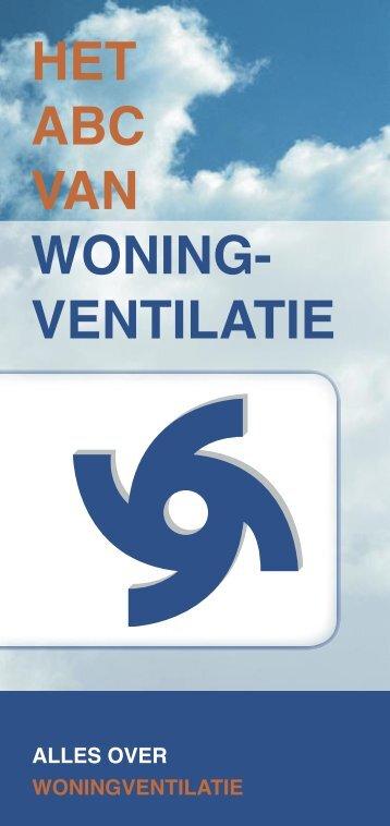 HET ABC VAN WONING- VENTILATIE - Codumé
