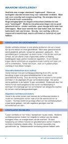 HET ABC VAN WONING- VENTILATIE - Codumé - Page 4