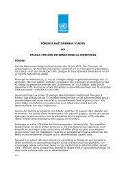 FN-stadgan (pdf) - Svenska FN-förbundet
