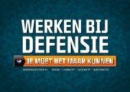 Algemene Brochure - Werken bij defensie