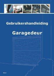 Gebruikshandleiding - Onlinegaragedeur.nl
