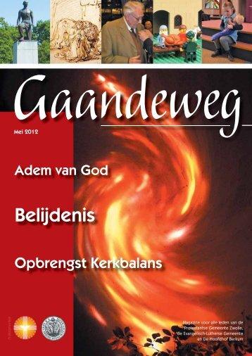 Mei 2012 - Protestantse Gemeente Zwolle