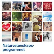 Naturvetenskapsprogrammet på Nyköpings gymnasium