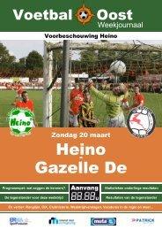 Heino Gazelle De - VV Heino