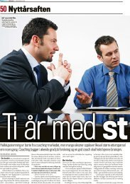10 år med store ord. - CoachTeam AS