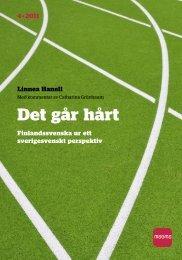 Det går hårt – finlandssvenska ur ett sverigesvenskt perspektiv - DiVA
