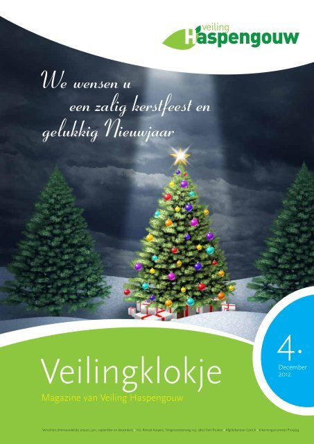 We Wensen U Een Zalig Kerstfeest En Gelukkig Nieuwjaar Veiling