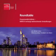 Roundtable - BearingPoint