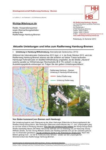 Arbeitsgemeinschaft Radfernweg Hamburg - Bremen