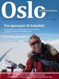 Magasin fra Oslo universitetssykehus nr.1 2010
