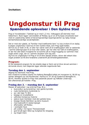 Download invitation og tilmeldingsblanket som PDF her
