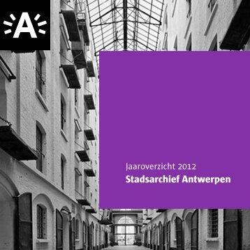 Stadsarchief Antwerpen - Felix Archief