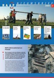 Nieuwsbrief 2006-2 - RAAP Archeologisch Adviesbureau