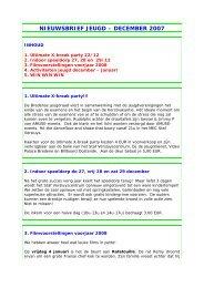 NIEUWSBRIEF JEUGD – MAART 2007 - Bredene