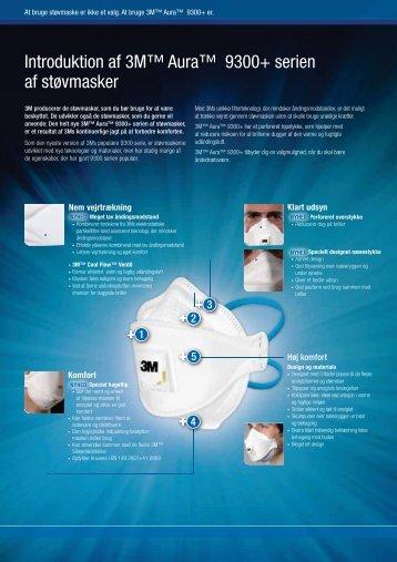 Download vores brochure om støvmasker fra 3M