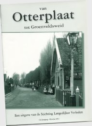 Van Otterplaat tot Groenveldsweid, jaargang 2012 - Stichting ...