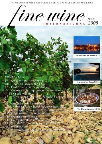 June 2008 - Fine wine magazine