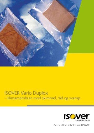 ISOVER Vario Duplex