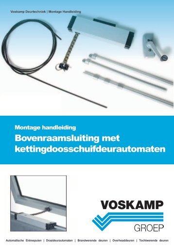 Montage handleiding ucs kettingdoos - Voskamp Groep