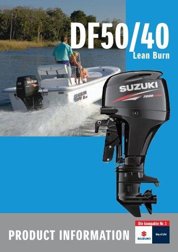 PRODUCT INFORMATION - Suzuki Marine
