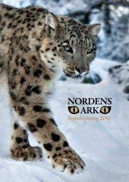 Årsredovisning 2010 - Nordens Ark