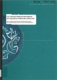 cultuurhistorische waarden in het gelderse rivierdijklandschap