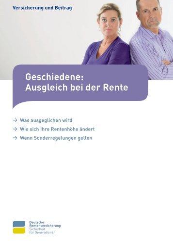 Information der Deutschen Rentenversicherung Bund - Kanzlei Diesel
