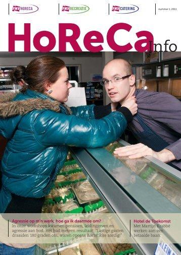 Horeca Info nr. 1 2011.pdf - FNV Horecabond
