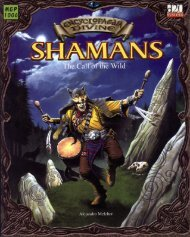 Shamans. The Call Of..