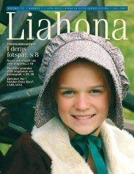 Juli 2007 Liahona