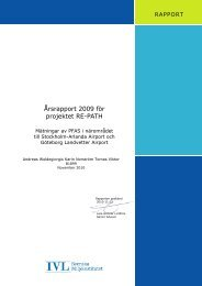 Årsrapport 2009 för projektet RE-PATH