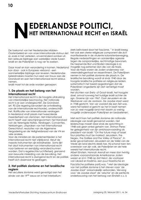 54 - Stichting Vredescentrum Eindhoven