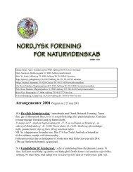 Efterår - Nordjysk Forening For Naturvidenskab