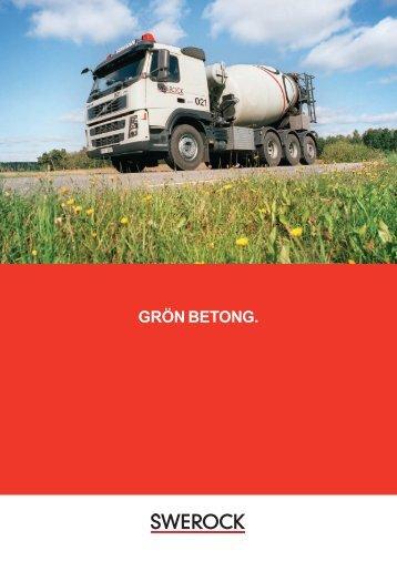 Ladda hem vår broschyr Grön betong - Swerock