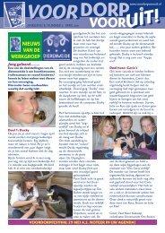 Nummer 2, April 2011 - Voordorp Vooruit