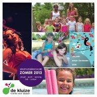 Vrijetijdsbrochure zomer 2013 - Gemeente Oosterzele