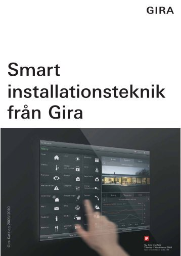 katalogen från Gira - Elot