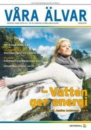 Göta älv - Vattenfall
