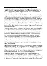Rollefordelingen mellem biskop/præster og lægfolk ... - Haderslev Stift
