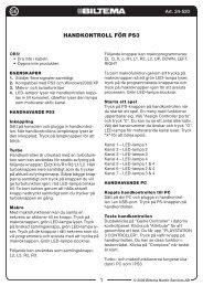 24-520 Manual.indd - Biltema