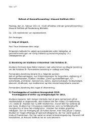 Referat af Generalforsamling i Alssund Golfklub 2008